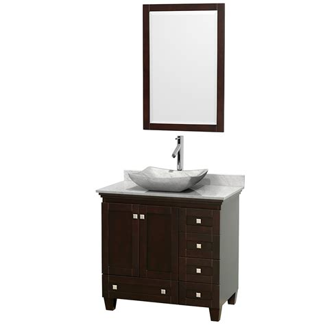 36 inch bathroom sink wyndham collection wcv800036sescmgs3m24 acclaim 36 inch