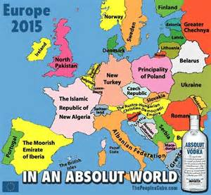 how europeans see america map this satirical map of