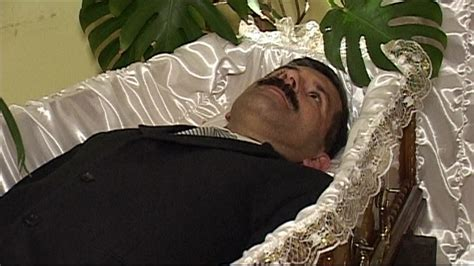 celebrities death pictures in casket coffin therapy to prepare for death bbc news