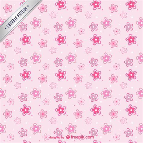 flower pattern freepik pink flowers pattern vector free download