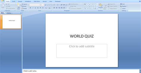 layout powerpoint vba my tutorial arena powerpoint vba for quiz management