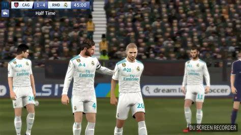 dream league soccer real madrid kits real madrid 2018 home kit gameplay dream league soccer mod