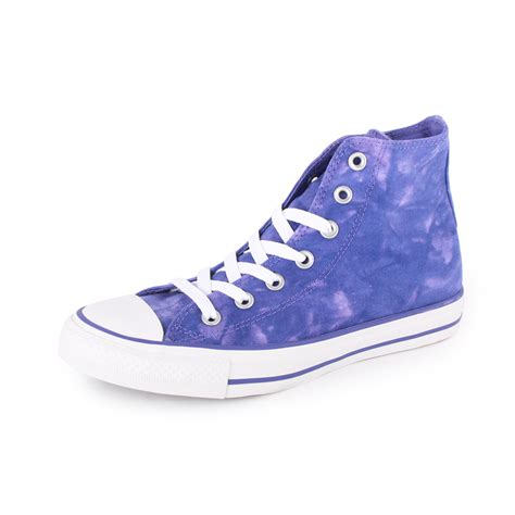 converse chuck all tie dye hi all unisex sizes new trainers purple ebay