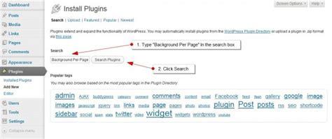 background pattern wordpress plugin how to add different background images to wordpress post