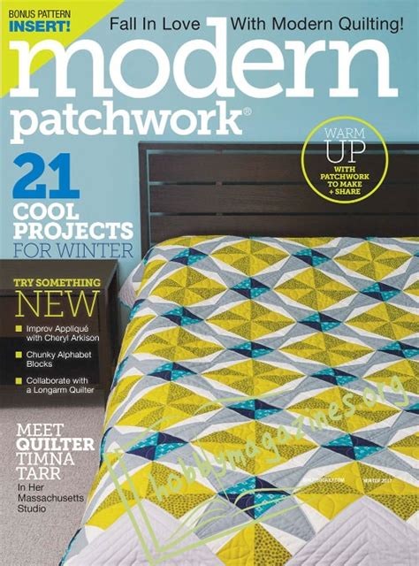 Modern Patchwork Magazine - modern patchwork winter 2017 187 hobby magazines free