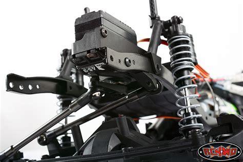 Pit Box Tamiya Custom 5 Tingkat chassis mounted steering servo kit with panhard bar for