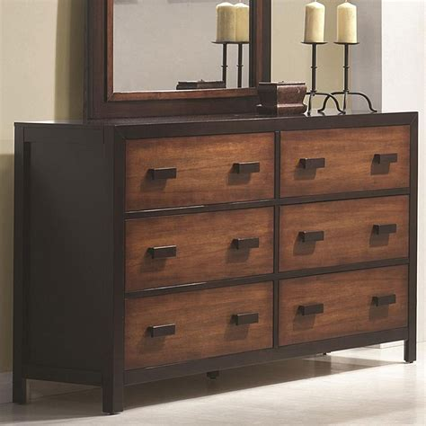 Coral Drawer by Coral 6 Drawer Dresser Dressers