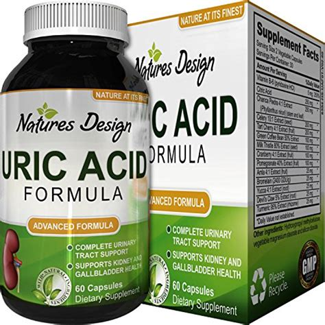 Aches During Detox by Uric Acid Kidney Support Vitamins For And