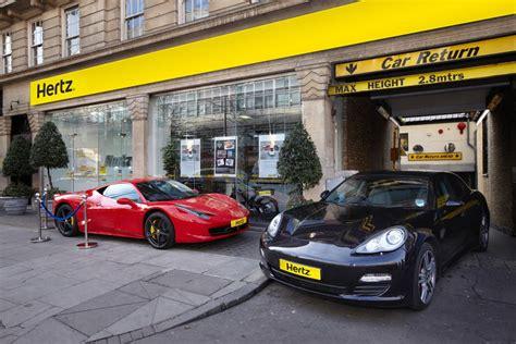 Hertz Car Types Uk by Hertz Customers In Uk Can Now Rent Legendary Supercars