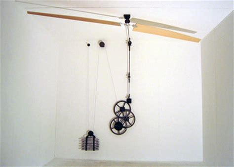 chain driven ceiling fan the of non electric ceiling fan how it works