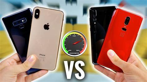 iphone xs max  note   p pro  oneplus  rapidite