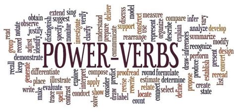 the power of verbs