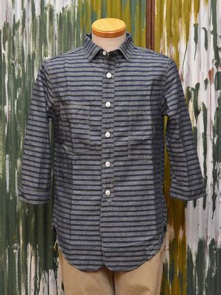 The Stripes Workshirt Co goat rakuten global market freewheelers 8 sleeve