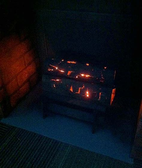 fake fireplace logs with lights 1941 best images about halloween inspiration on