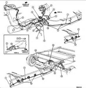 Brake Line Diagram Ford F250 Fsuperduty I Broken A Brake Line In The Rear Of A 97