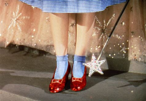 wizard of oz slippers hollywood costume glamour at acmi direct from v a