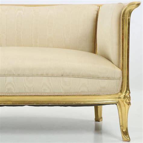 nouveau carved giltwood antique canap 233 sofa