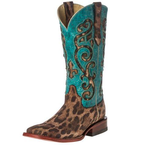 shop s ferrini leopard print boots