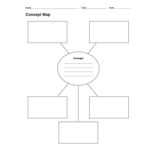 free premium templates concept map template free premium templates intended