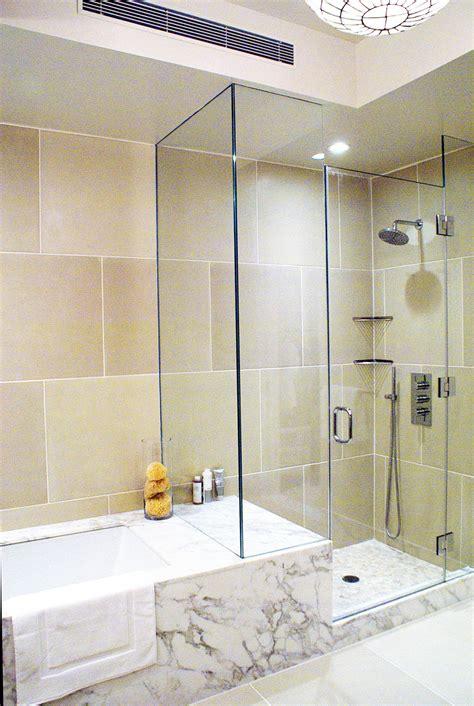 bathroom shower and tub combination ideas 15030