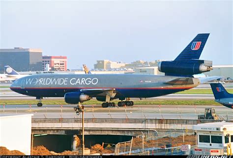 united airlines worldwide cargo mcdonnell douglas dc 10 30 f los angeles international lax