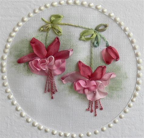 embroidery ribbon val laird journey of a stitcher silk ribbon