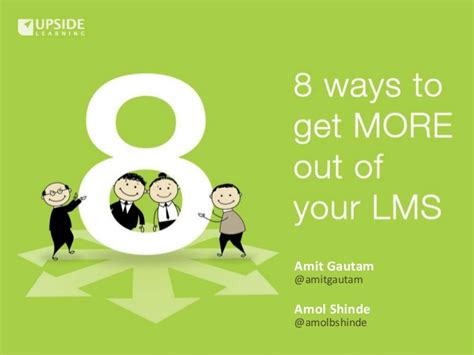 8 Ways To Be More Affectionate by 8 Ways To Get More Out Of An Lms