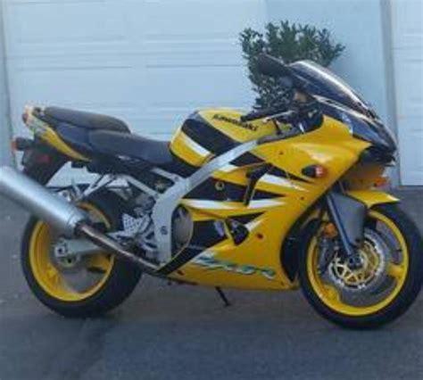 2001 Kawasaki Zx6r Parts 2001 kawasaki zx6r motorcycles for sale