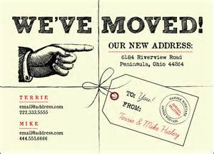 We Ve Moved Template by We Ve Moved Postcards