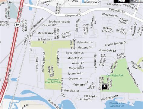 kingwood texas map artz n creativity culture caring for