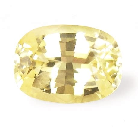 Sapphire No Heat 1 23 Cts unheated ceylon yellow sapphires vedic astrology