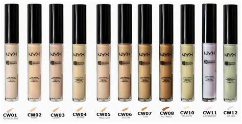 Nyx Hd Photogenic Concealer opinie o nyx high definition hd photogenic concealer