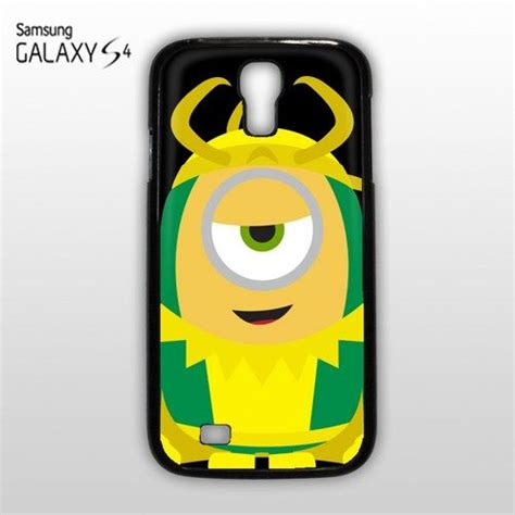 Minion Was Thor 0902 Casing For Iphone 7 Plus Hardcase 2d despicable me minion minions loki avenger samsung galaxy s4 s iv cover