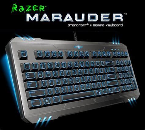 Keyboard Razer Marauder Starcraft Editon 1 razer spectre mouse marauder keyboard and banshee headset starcraft ii wings of liberty
