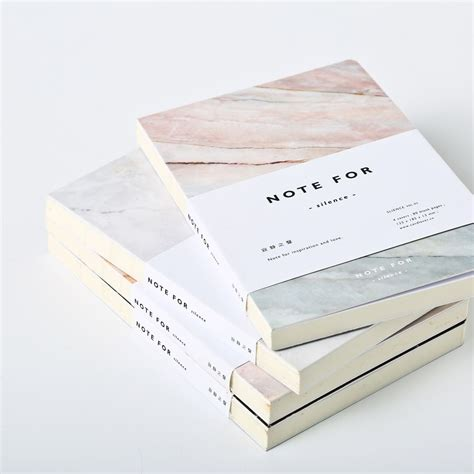 Note 1 In Japan japanese stationery note for silence 80 pages marble