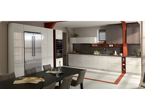 cuisine design laque brillant strass 3 magnolia