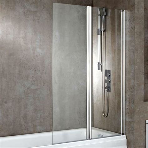 the bath shower screen square bath shower screen uk bathrooms