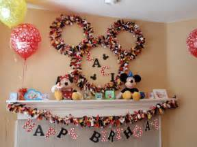Homemade mickey mouse and minnie mouse parties on catch my party