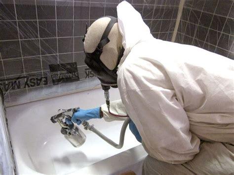 vernice vasca da bagno come rinnovare lo smalto di una vasca da bagno tecniche