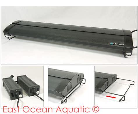 odyssea lighting aquarium t5 t5 l odyssea dual pro t5ho 24w x 4