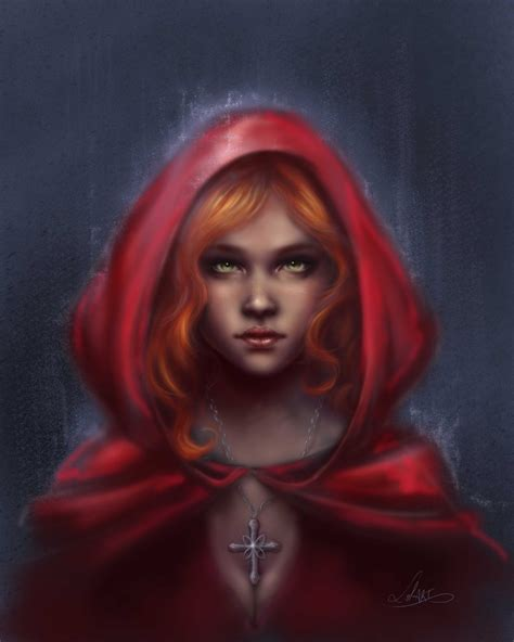 black hair with red riding hood little red riding hood by lolinart on deviantart