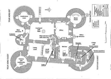medieval castle floor plan ch 226 teau de montbrun plan du rez du chauss 233 e castles