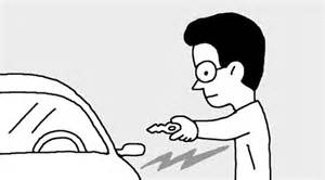 Static Shocks Car Door To Avoid Being Struck By Static Electricity The Chosun