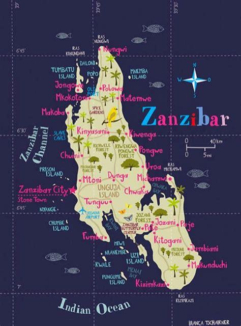 africa map zanzibar dirtbin designs zanzibar by far
