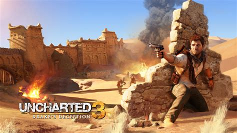 uncharted 3 hd wallpaper 1920x1080 drake in uncharted 3 wallpapers hd wallpapers id 11027