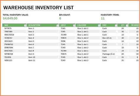 warehouse layout excel template landlord inventory template auto dealer websites