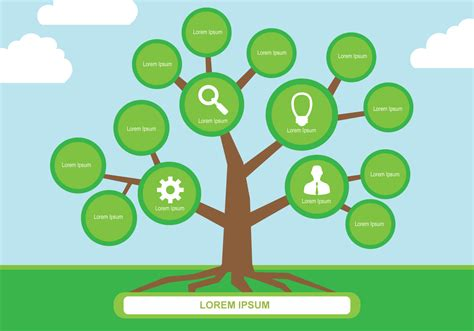 tree mapping software free mind map vector free vector stock graphics