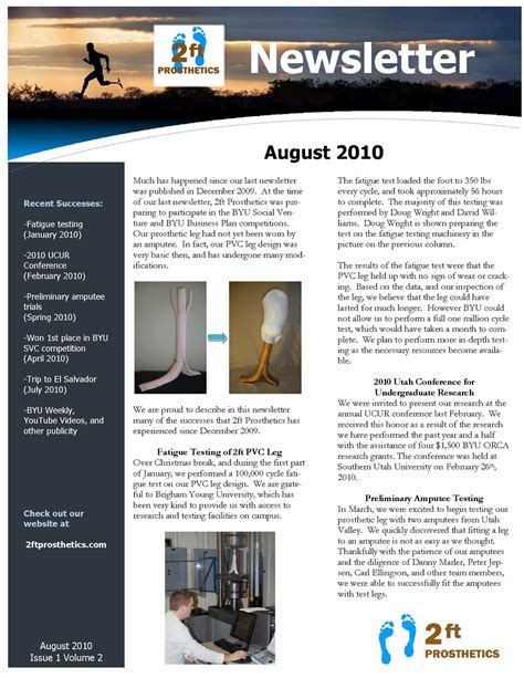 newsletter templates for microsoft word
