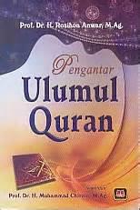 Pengantar Ulumul Quran Rosihon Anwar Buku Agama Islam B62 toko buku rahma pengantar ulumul quran