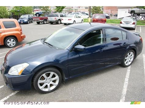 how things work cars 2007 nissan maxima electronic valve timing 2007 nissan maxima 3 5 se in majestic blue metallic 853953 autos of asia japanese and